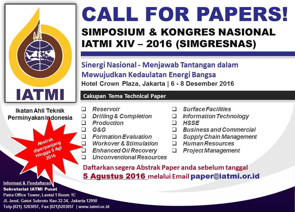 CALL FOR PAPERS SIMGRESNAS
