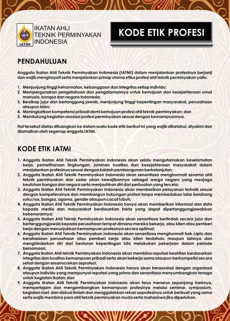 Kode Etik 2016-2019