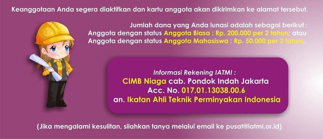 Daftar Anggota Baru IATMI