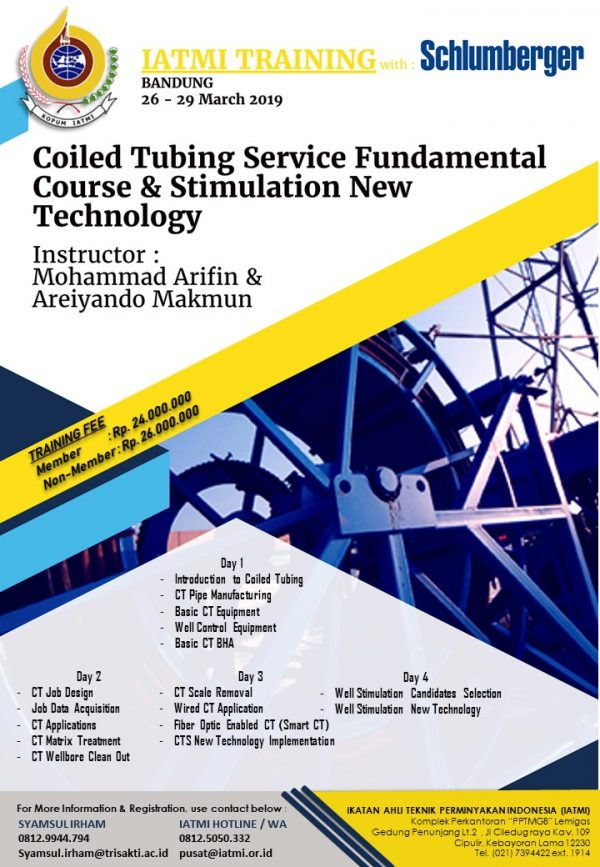 IATMI Training Coiled Tubing