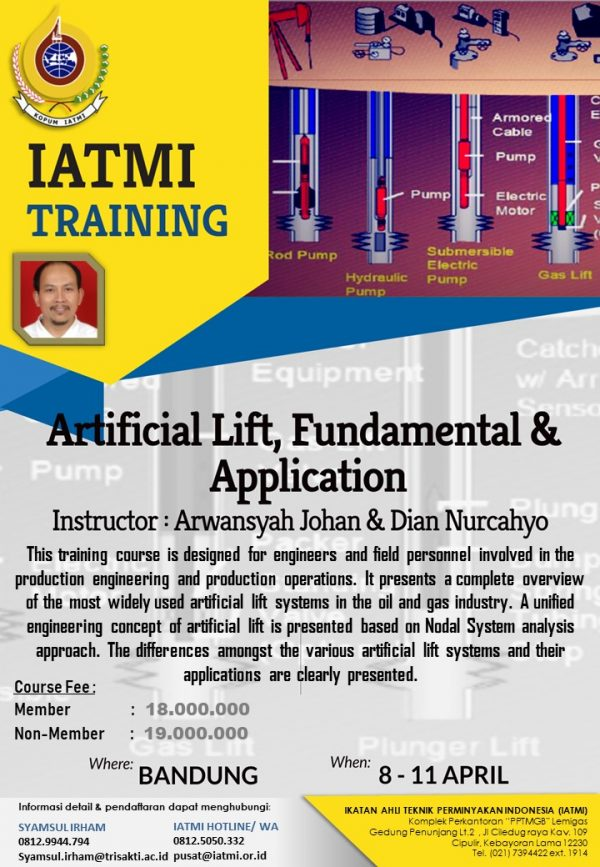 Q2 2019 IATMI TRAINING Artificial Lift Design